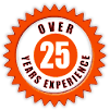 25+ Years Experience